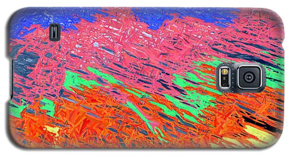 Erupting Lava Meets The Sea Galaxy S5 Case by Joseph Baril