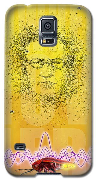 Erwin And The Quantum Firflies Galaxy S5 Case