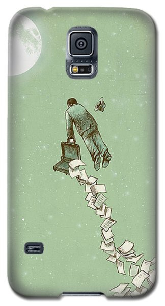 Fantasy Galaxy S5 Case - Escape by Eric Fan