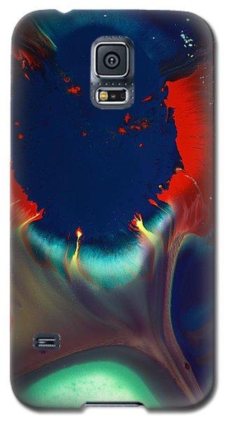 Escape Into The Depth - Modern Contemporary Abstract Art By Kredart Galaxy S5 Case