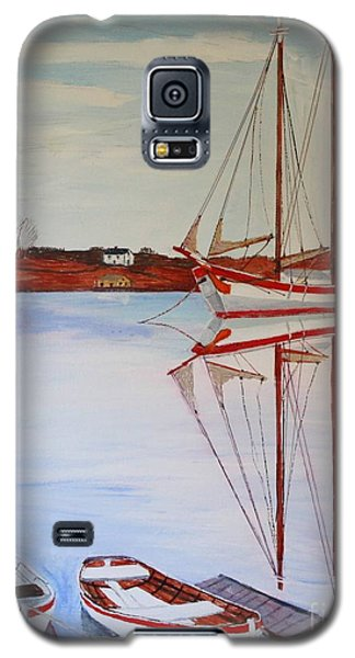 Essex Harbor Reflections Galaxy S5 Case