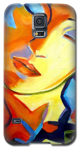 Galaxy S5 Case featuring the painting Eternity by Helena Wierzbicki