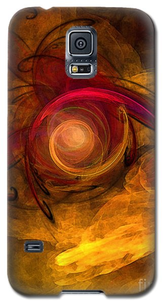 Eternity Of Being-abstract Expressionism Galaxy S5 Case
