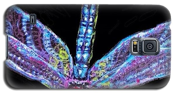 Ethereal Wings Of Blue Galaxy S5 Case by Kimberlee Baxter