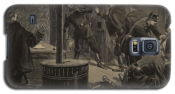 Dungeon Galaxy S5 Case - Etievant, The Anarchist Shoots by F.L. & Tofani, Oswaldo Meaulle