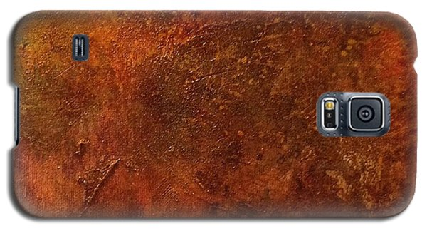 Galaxy S5 Case featuring the painting Euphoria by Delona Seserman