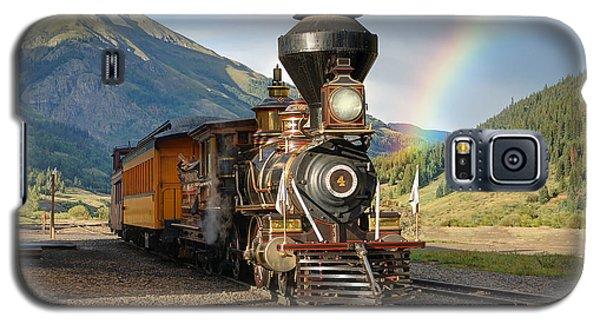 Eureka Rainbow Galaxy S5 Case by Ken Smith