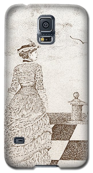 European Lady In The 19 Century Galaxy S5 Case