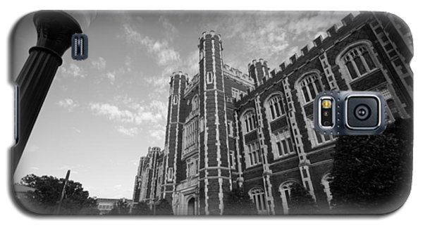 Evans Hall In Black And White Galaxy S5 Case by Nathan Hillis