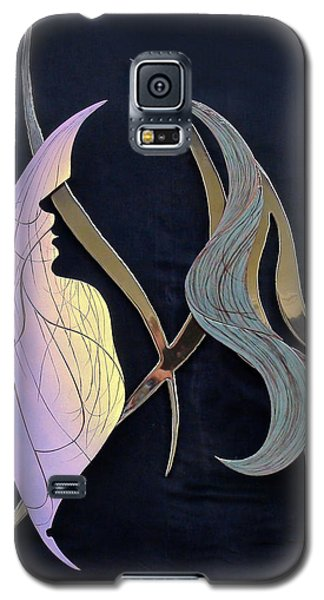 Galaxy S5 Case featuring the sculpture Eve by Dan Redmon