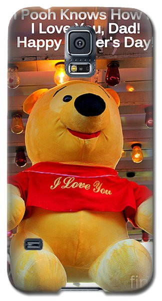 Even Pooh Knows Card Galaxy S5 Case