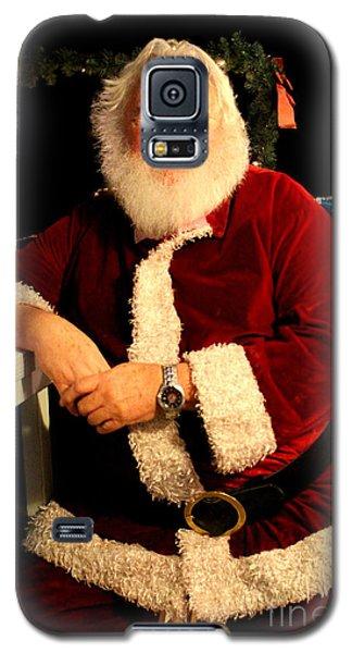 Even Santa Needs A Break Galaxy S5 Case