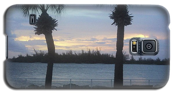 Galaxy S5 Case featuring the photograph Evening At Fort Pierce Inlet by Megan Dirsa-DuBois
