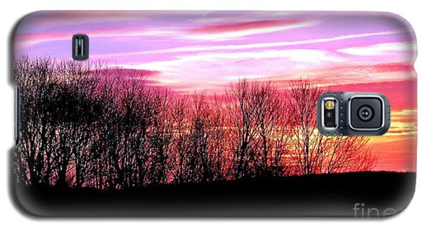 Galaxy S5 Case featuring the photograph Evening Blaze by Christian Mattison