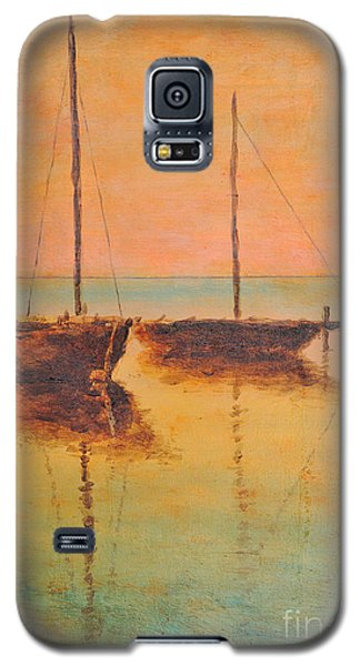 Evening Boats Galaxy S5 Case