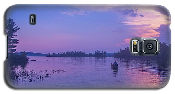 Evening Canoeing  Galaxy S5 Case by Alana Ranney