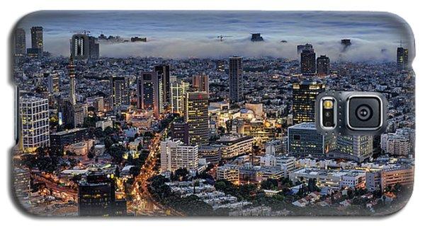 Evening City Lights Galaxy S5 Case
