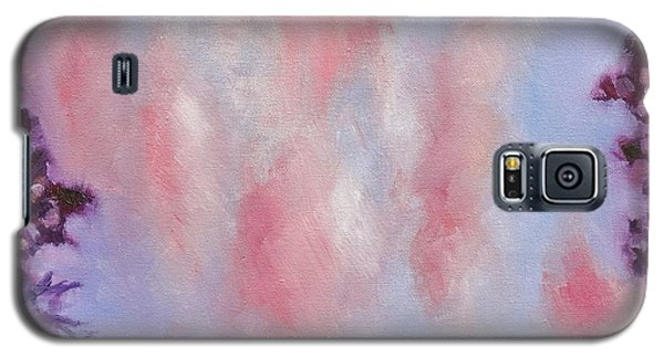 Galaxy S5 Case featuring the painting Evening Clouds by Jason Williamson