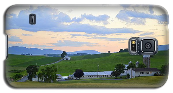Evening Countryside #1 - Millmont Pa Galaxy S5 Case