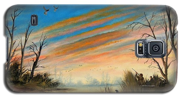 Evening Duck Hunt Galaxy S5 Case