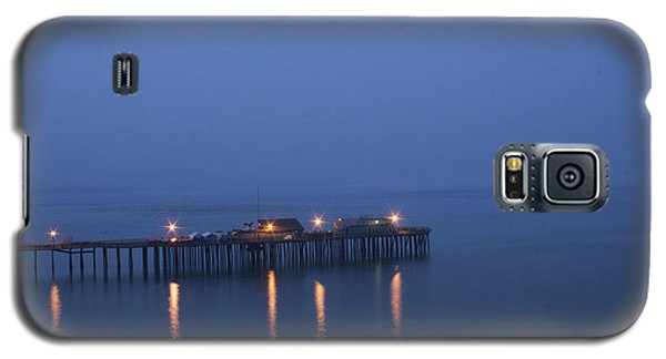 Galaxy S5 Case featuring the photograph Evening Enters Capitola by Lora Lee Chapman