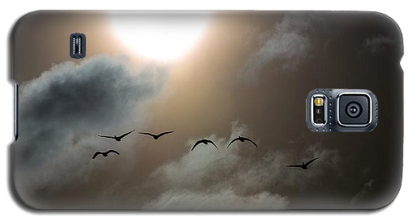 Evening Flight Galaxy S5 Case
