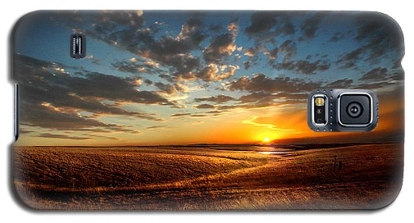Evening Glow In Chase County Galaxy S5 Case by Rod Seel