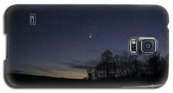 Evening In Horse Country Galaxy S5 Case