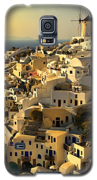 evening in Oia Galaxy S5 Case