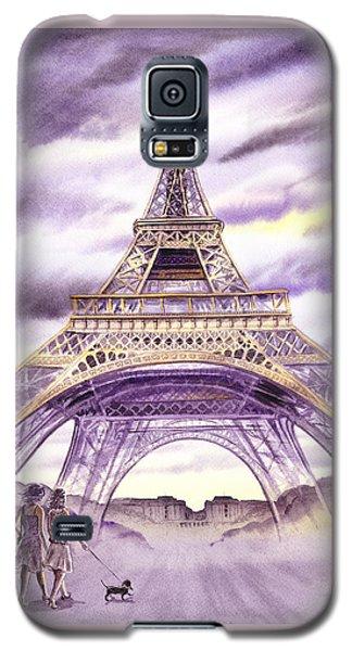 Evening In Paris A Walk To The Eiffel Tower Galaxy S5 Case