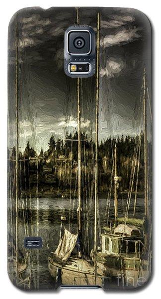 Galaxy S5 Case featuring the photograph Evening Mood by Jean OKeeffe Macro Abundance Art