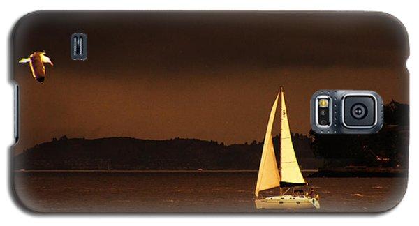 Galaxy S5 Case featuring the photograph Evening Near Sausalito  by Chuck Caramella