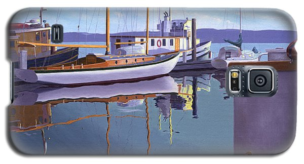 Evening On Malaspina Strait Galaxy S5 Case by Gary Giacomelli