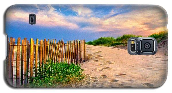 Evening On The Beach Galaxy S5 Case