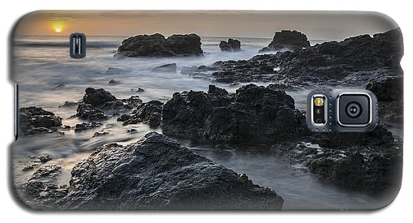 Evening On The Rocky Shore Galaxy S5 Case