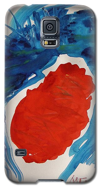 Evening Over Scarlet Lake Galaxy S5 Case by Mary Carol Williams