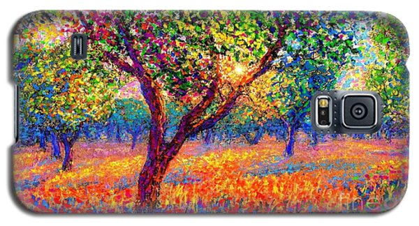 Apple Galaxy S5 Case - Evening Poppies by Jane Small