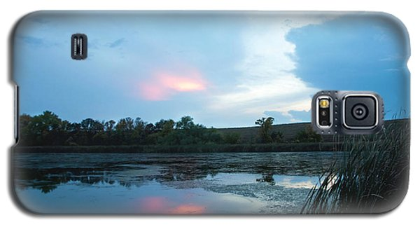 Evening Reflections On The Pond Galaxy S5 Case