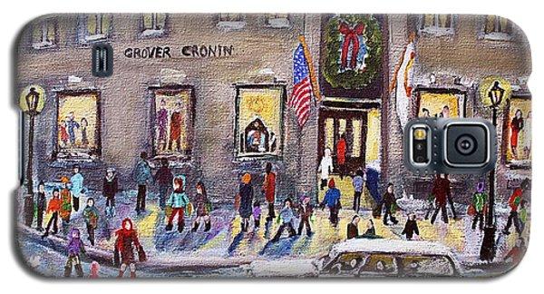 Evening Shopping At Grover Cronin Galaxy S5 Case