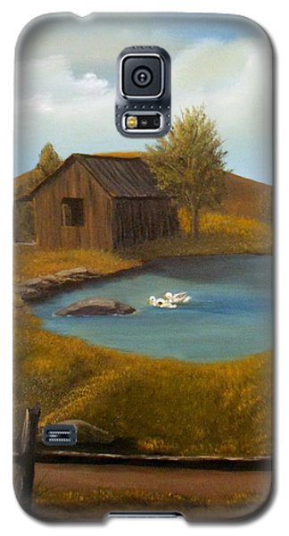 Evening Solitude Galaxy S5 Case by Sheri Keith