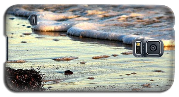Galaxy S5 Case featuring the photograph Evening Surf by Allen Beilschmidt