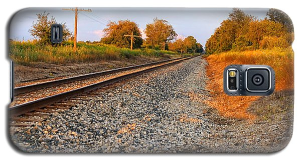 Evening Tracks Galaxy S5 Case