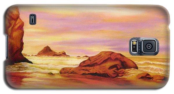 Evening Twilight   Pastel Galaxy S5 Case by Antonia Citrino