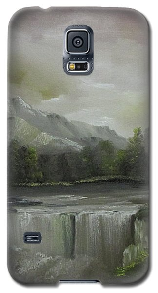 Evening Waterfalls Galaxy S5 Case