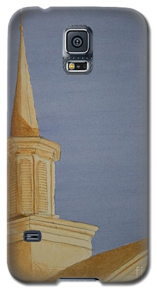 Galaxy S5 Case featuring the painting Evening Worship by Stacy C Bottoms