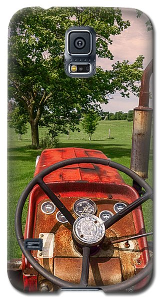 Ever Drive A Tractor Galaxy S5 Case