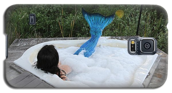 Everglades City Florida Mermaid 018 Galaxy S5 Case by Lucky Cole
