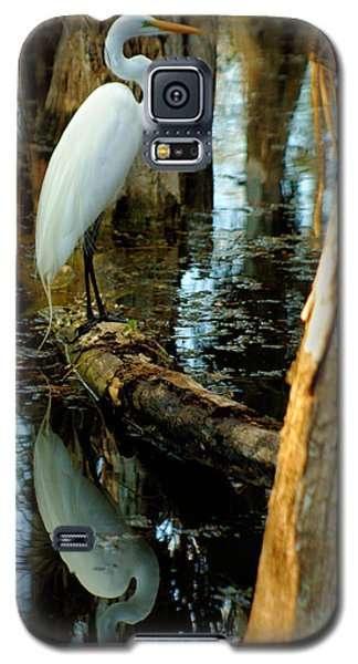 Everglades Egret Galaxy S5 Case