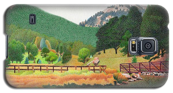 Evergreen Lake Spring Galaxy S5 Case