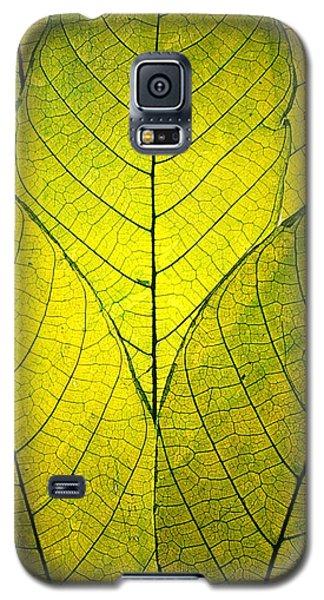 Every Leaf A Flower Galaxy S5 Case by Robin Dickinson